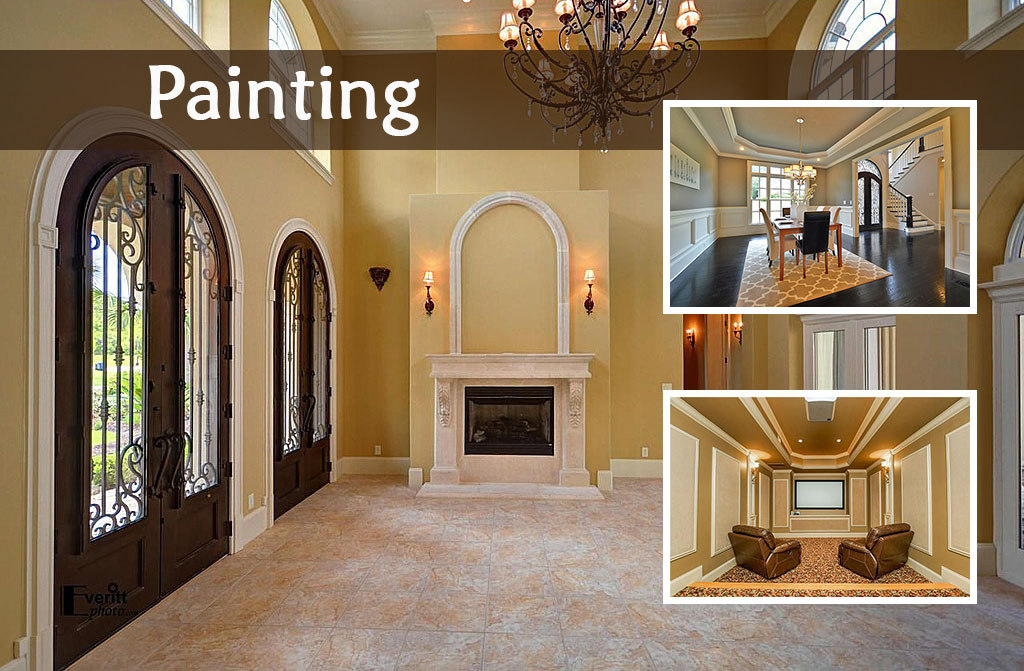 3 easy improvements to help sell your home the cummings company for Can you use exterior paint on the inside