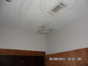 How to avoid buying a money pit the cummings company Leak in ceiling when it rains