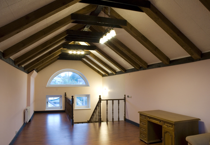 Is There A Staircase? Clean Attic Conversion