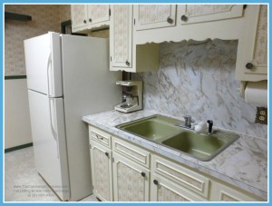 Mobile AL Home For Sale with White Kitchen