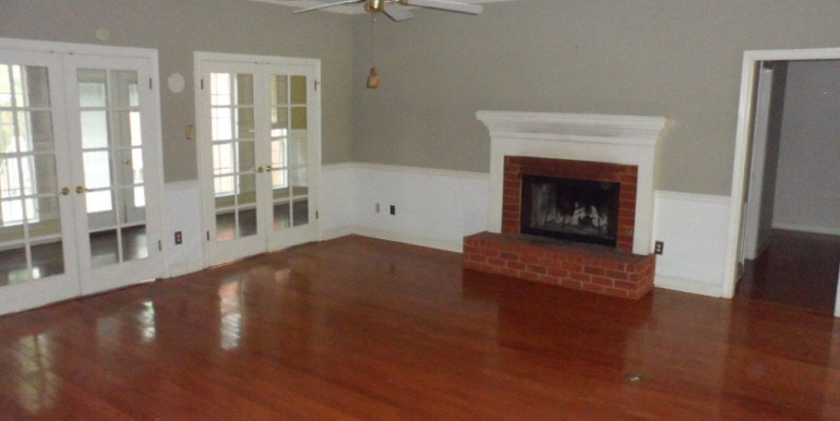 1570 Brockton Ln E Mobile AL 36695 Living Room and Fireplace