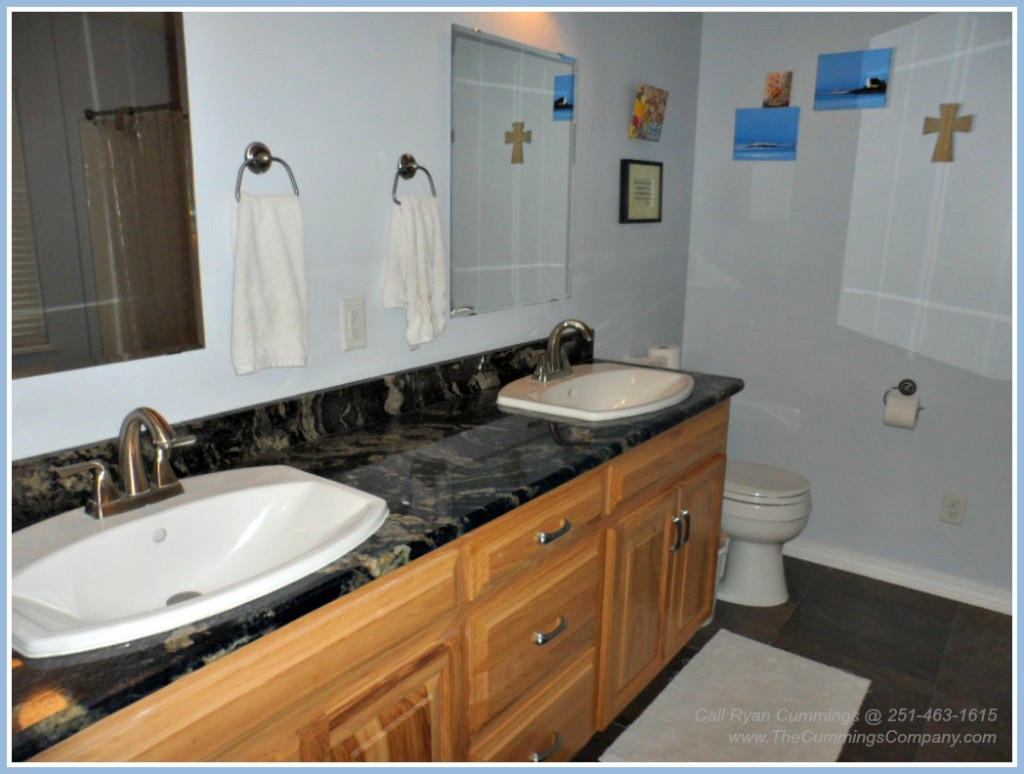 Home For Sale with Updated Bathrooms in Saraland AL