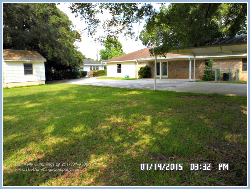 Foreclosure Property For Sale with large Backyard in Mobile Alabama