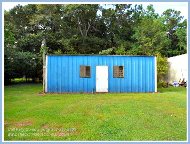 Mobile AL Foreclosure For Sale with Storage Building