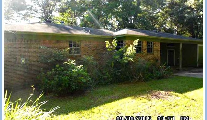 8086 Hooper St Mobile AL 36619 Back View