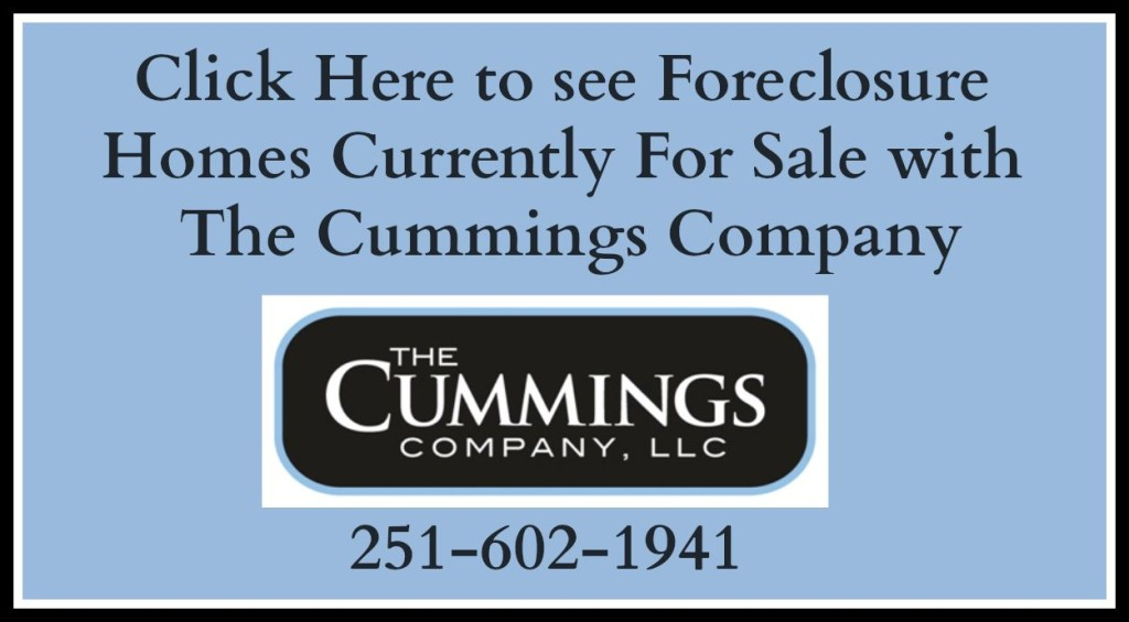 The Cummings Company Foreclosure Homes For Sale in Mobile Alabama
