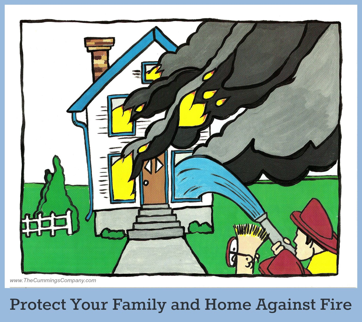 Are you and your 39 home 39 prepared for the unknown the for Fire safety house