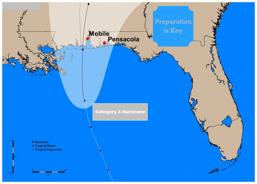 Preparing for a Hurricane on the Alabama Gulf Coast