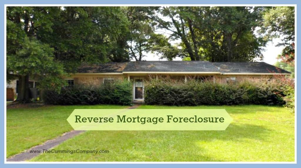 Mobile Alabama Reverse Mortgage Foreclosure