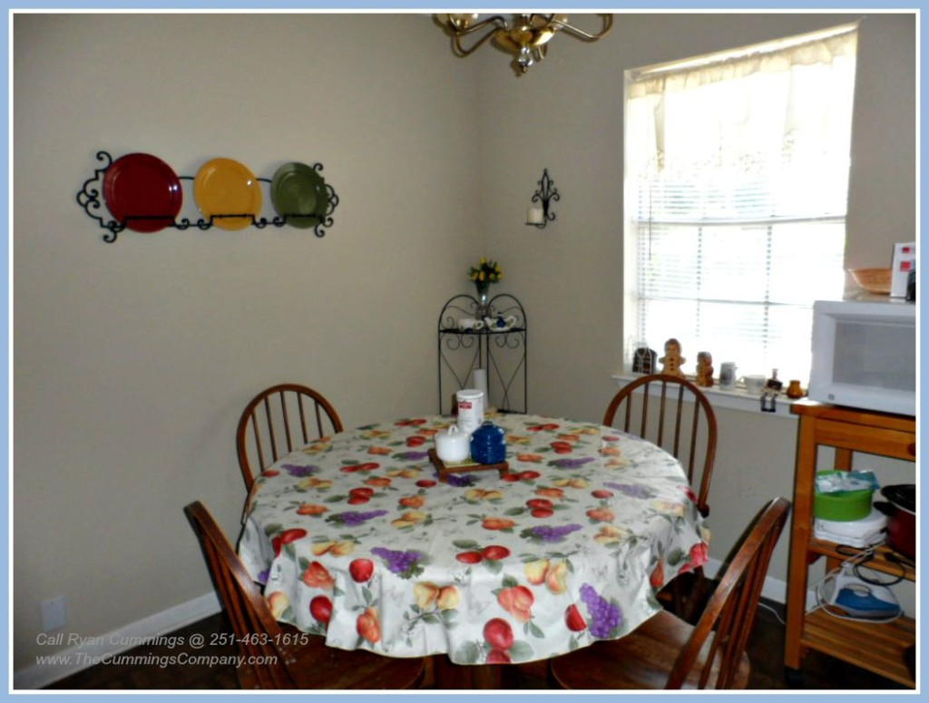 Home For Sale with Dining Area in Mobile AL