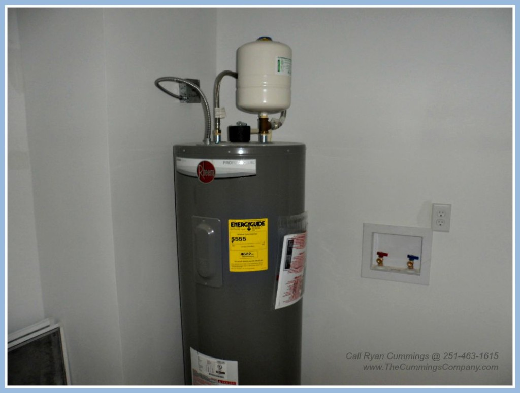 Home For Sale with New Water Heater