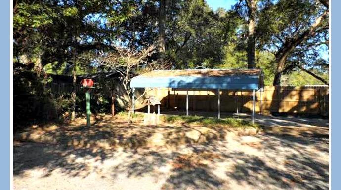 Carport and Backyard at 1174 Ginger Dr Mobile AL 36693