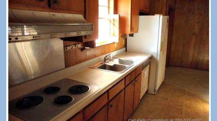 Kitchen with Refrigerator at 1174 Ginger Dr Mobile AL 36693