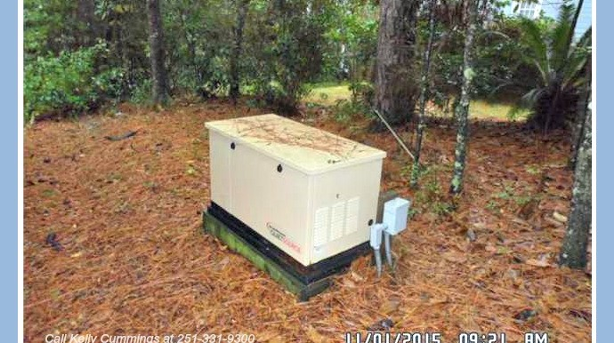 Whole Home Generator at 23573 3rd St Montrose AL 36559
