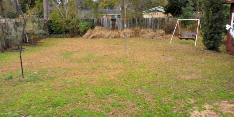 2626 Rosebud Dr Mobile AL 36695 Fenced Backyard