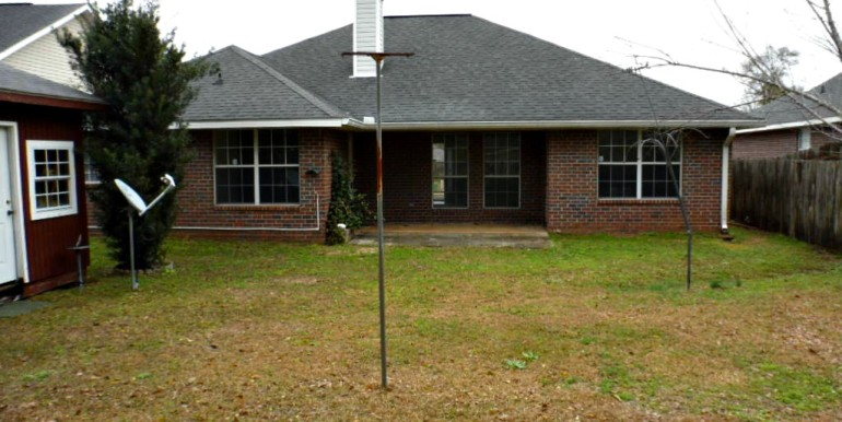 2626 Rosebud Dr Mobile AL 36695 Rear View