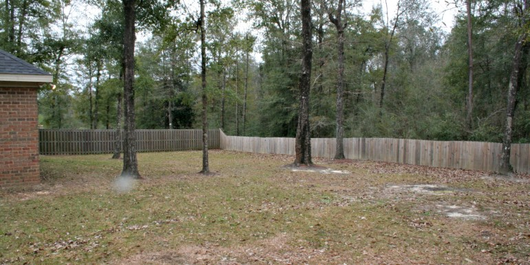 3377 Hardwood Dr Saraland AL 36571 Fenced Backyard