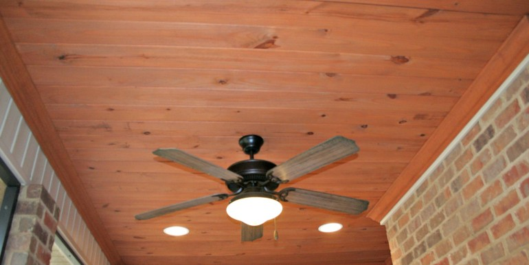 3377 Hardwood Dr Saraland AL 36571 Screened Porch Ceiling