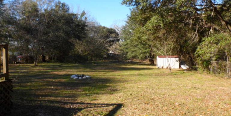 Backyard at 5171 Levert Rd Wilmer AL 36587
