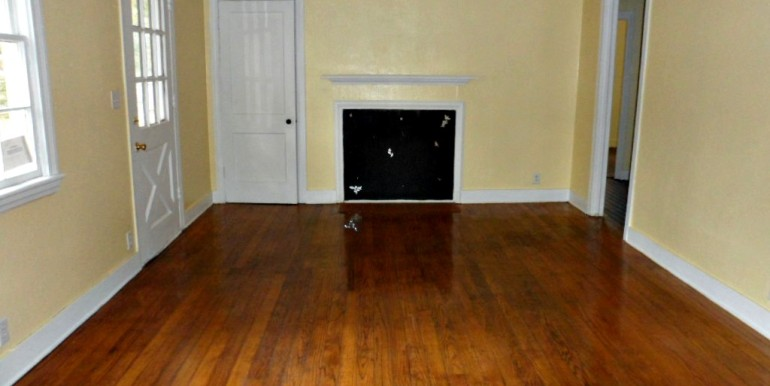 Living Room with Fireplace at 368 Pineview Ln Mobile AL