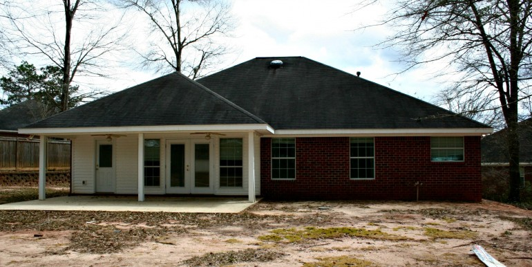1316 Summerchase Ct Mobile AL 36695 Patio and Rear View