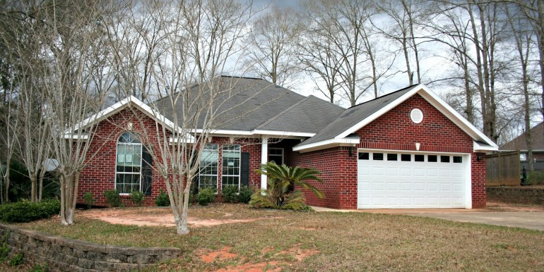 1316 Summerchase Ct Mobile AL 36695 Side View