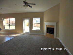 Foreclosure home for sale with open floor plan