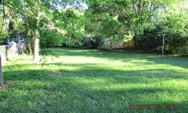 2107 Costarides St Mobile AL 36617 Backyard